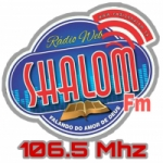 Logo da emissora Rádio Web Shalom FM