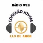 Logo da emissora Radio Web Conexão Jovem e Elo de Amor