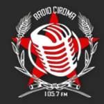 Logo da emissora Ciroma 105.7 FM