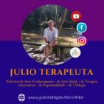 Logo da emissora Rádio Julio Terapeuta