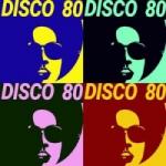 Logo da emissora Disco 80