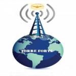 Logo da emissora Rádio Torre Forte FM