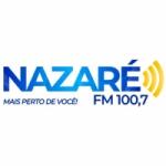 Logo da emissora Rádio Nazaré 100.7 FM