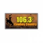 Logo da emissora KLEN 106.3 FM