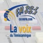 Logo da emissora CKVM 93.1  FM