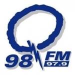 Logo da emissora Radio CJCQ Q98 97.9 FM