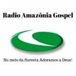 Logo da emissora Rádio Amazônia Gospel