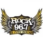Logo da emissora KMGW 96.7 FM