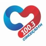 Logo da emissora Rádio Conceição 100.3 FM
