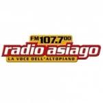 Logo da emissora Radio Asiago 107.7 FM