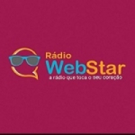 Logo da emissora Rádio Webstar