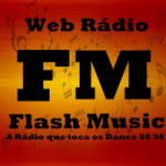 Logo da emissora Rádio Flash Music