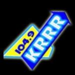 Logo da emissora KRRR 104.9 FM