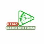 Logo da emissora Rádio Caboclo Sete Flechas