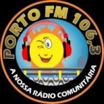 Logo da emissora Rádio Porto FM