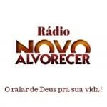 Logo da emissora Rádio Novo Alvorecer