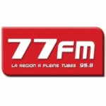 Logo da emissora 77 95.8 FM