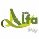 Logo da emissora Radio Alfa Pop