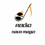 Logo da emissora Rádio Nova Magia