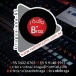 Logo da emissora Rádio Braz FM