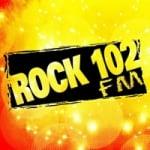 Logo da emissora Rock 102 CJDJ 102.1 FM