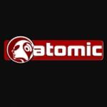 Logo da emissora Atomic 93.2 FM