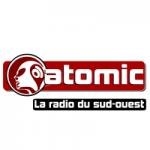 Logo da emissora Atomic 100.4 FM