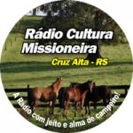 Logo da emissora Rádio Web Cultura Missioneira