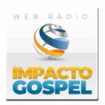 Logo da emissora Rádio Impacto Gospel Litoral