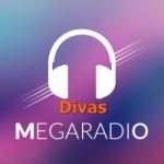 Logo da emissora Mega Rádio Divas