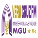 Logo da emissora Rádio Vera Cruz FM