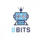 Logo da emissora Rádio 8 Bits