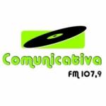 Logo da emissora Rádio Comunicativa 107.9 FM