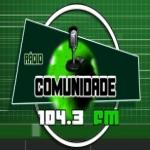 Logo da emissora Rádio Comunidade 104.3 FM