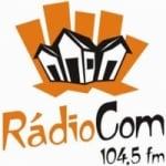 Logo da emissora Rádio Com 104.5 FM