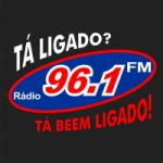 Logo da emissora Rádio 96.1 FM