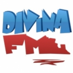 Logo da emissora Divina 87.7 FM