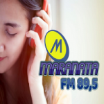 Logo da emissora Rádio Maranata FM Lagoa Vermelha
