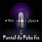 Logo da emissora Pontal do Peba Fm