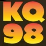 Logo da emissora KQYB 98 FM