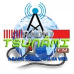Logo da emissora Rádio Tsunami FM
