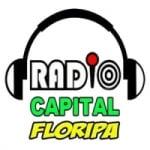 Logo da emissora Rádio Capital Floripa