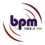 Logo da emissora BPM 102.1 FM