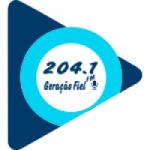Logo da emissora Rádio 204.1 Geração Fiel