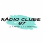 Logo da emissora Rádio Clube 87