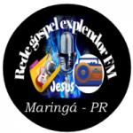 Logo da emissora Rede Gospel Explendor FM