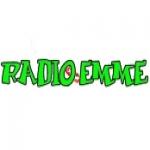Logo da emissora Emme 100.4 FM