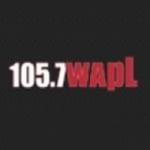 Logo da emissora WAPL 105.7 FM