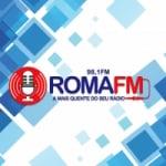 Logo da emissora Rádio Roma 98.1 FM