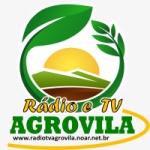 Logo da emissora Rádio TV Agrovila
